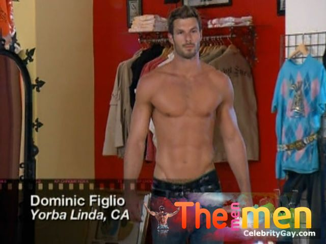 Dominic Figlio Shirtless