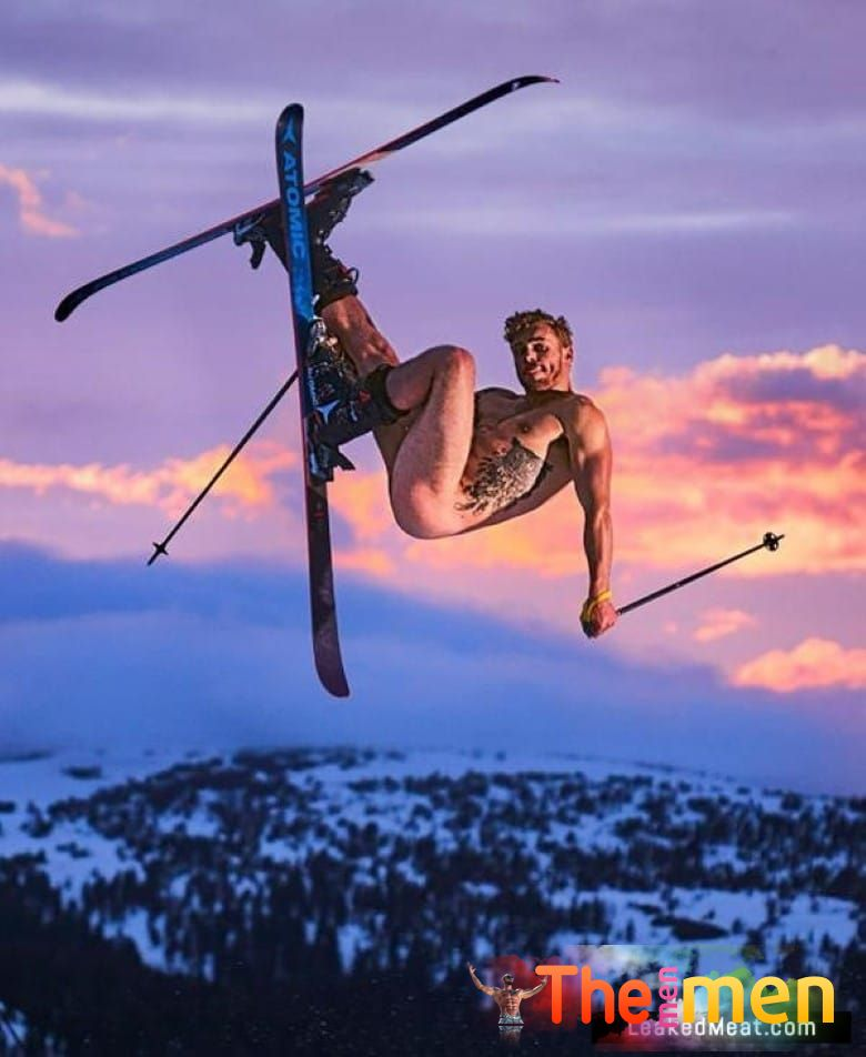 Pro Skier Gus Kenworthy Nude Pics, Tight Butt & Chiseled Abs • The Men Men