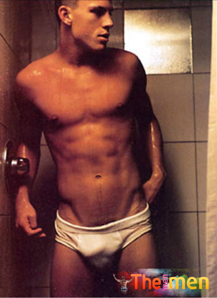 Young Channing Tatum nude