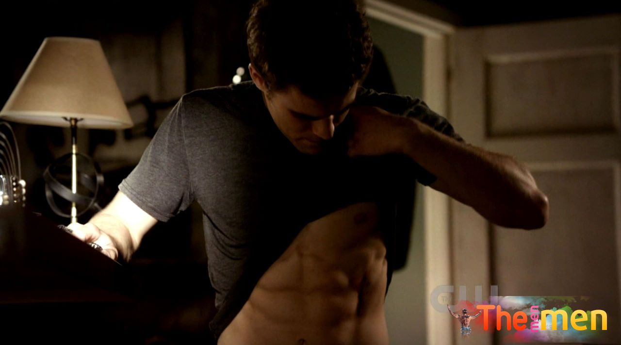 Naked pics of Paul Wesley